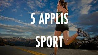 Le TOP 5 - Les applications pour faire du sport