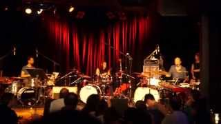 Benny Greb, Mike Mangini, Steve Smith drum trio @ Martyrs, Chicago 2015