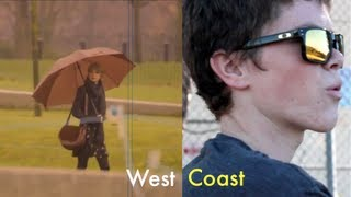 Taylor Swift and Coconut Records - West Coast (Official HD Music Video)