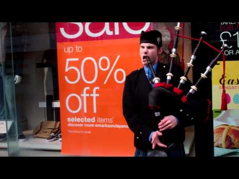 Ode To Joy Scottish Bagpipes Piper Perth Perthsire Scotland