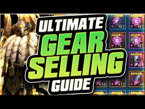 Best Guide for Selling Gear I Raid Shadow Legends