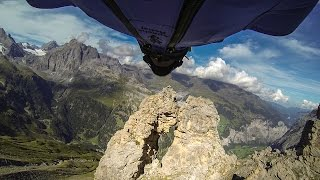 GoPro: Wingsuit Flight Through 2 Meter Cave - Uli Emanuele