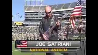 Joe Satriani Oakland Raiders vs. Tennessee Titans NATIONAL ANTHEM