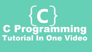 C Programming Tutorial , Learn C programming , C language