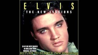 Elvis Presley - Return To Sender (New Session Overdub), [HD Remaster], HQ