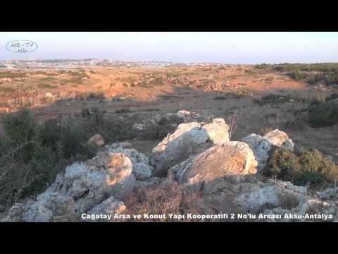 Çağatay Arsa ve Konut Yapı Kooperatifi 2 No'lu Arsası Aksu-Antalya