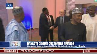Dangote Organises Cement Customers Awards
