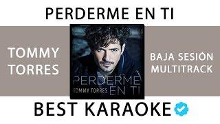 TOMMY TORRES - PERDERME EN TI (KARAOKE - INSTRUMENTAL + MULTITRACK) 37