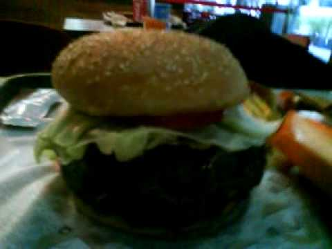 El Corral Quito Ecuador Cheeseburger 1.5 Pounds of pure beef goodness, double fries and Diet Coke