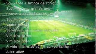 """Sporting """"Sou verde e branco de coração''"""