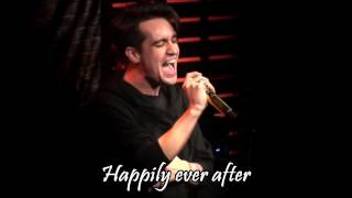 Panic! At The Disco - Death of a Bachelor (live) lyrics