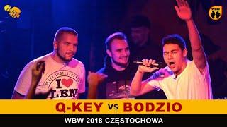 BODZIO vs Q-KEY 🎤 WBW 2018 🎤 Częstochowa (1/8) Freestyle Battle