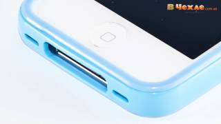 Бампер SGP Neo Hybrid 2S Pastel Series для iPhone 4 4S