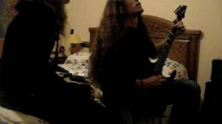 Tristania's Wormwood acoustic improvisation cover (guitar and voice)