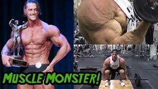 """6' 7"""" 280 lb Muscle Monster & World's Tallest Bodybuilder"""