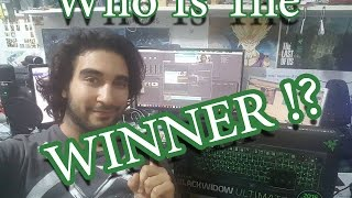 Winner Of The Razer Blackwidow Ultimate 2016 !!!!