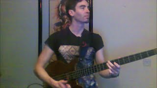 Let's Groove by Earth, Wind & Fire (solo bass arrangement) - Karl Clews on bass