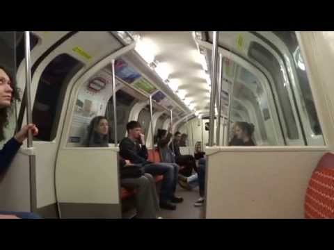 Riding Glasgow Scotland Subway