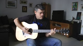 Come Together ♦ Guitar Lesson ♦ Tutorial ♦ Cover ♦ Tabs ♦ The Beatles ♦ Part 1/2