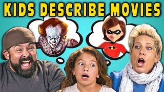 Can Parents Guess Movies Described By Kids? #4 (React)