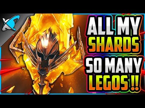 ALL MY SHARDS... INSANE LUCK!! | So Many LEGOS... 2X Sacreds Event! | RAID: Shadow Legends