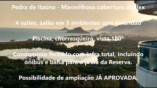 Arésia Imóveis | Maravilhosa cobertura 4 suítes - Pedra de Itaúna