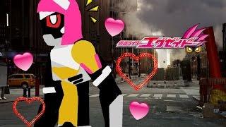 Pivot Kamen rider poppy Tokimeki Crisis Gamer level X Henshin