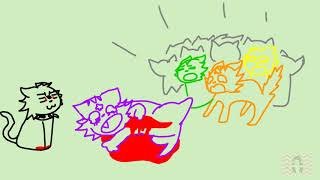 The Crayon Song Gets Ruined - Warriors/Warrior Cats Animatic