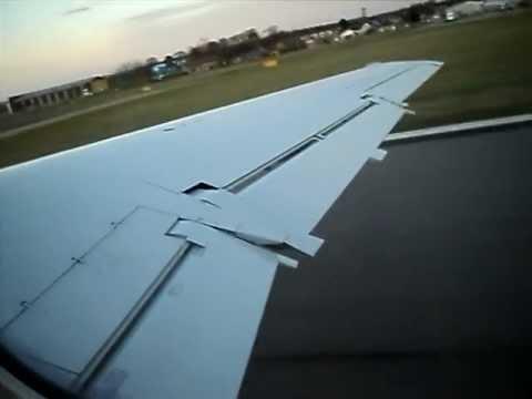 Takeoff Aberdeen Embraer ERJ -145
