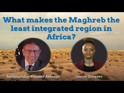 Video : M. Amrani : Le non-Maghreb, un gâchis économique, un handicap politique et une aberration historique