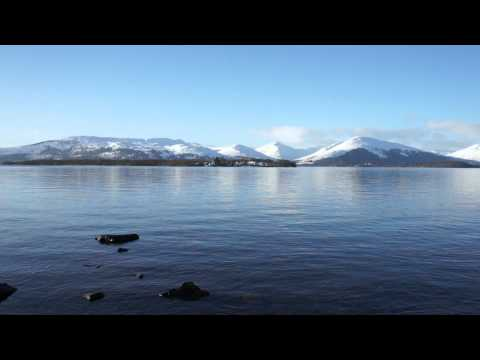 Loch Lomond on January 9, 2011