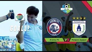 JEBRET..GOOOL! Remedial Kick Rivaldi, Goal untuk Arema | Go-Jek Liga 1 bersama Bukalapak
