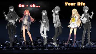 Nightcore - Despacito -J.Bieber · Rihanna · EdSheeran · Sia (The Megamix - Switching vocals)