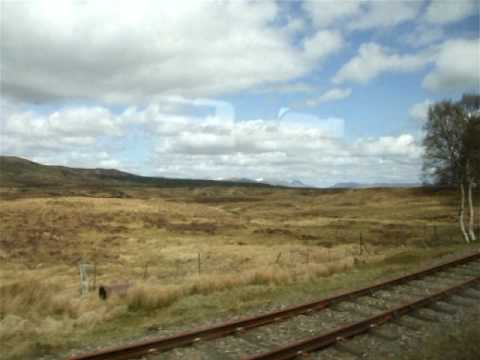 Train trip Fort William – Glasgow