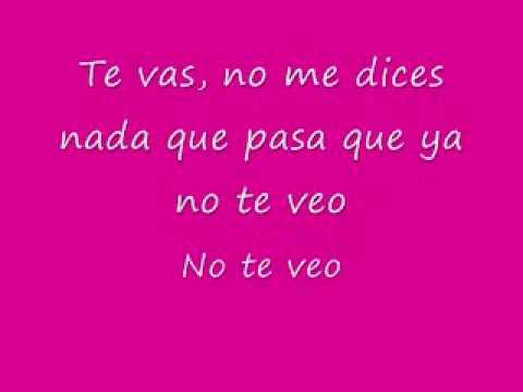 Te Vas No Me Dices Nada English Lyrics de Jowell Y Randy Letra y Video