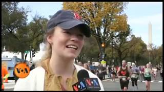 Marine Corps Marathon in Washington, DC: Asad Ullah Khalid