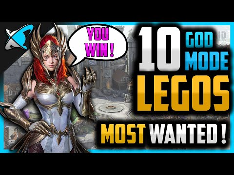 "10 ""GOD MODE"" LEGENDARIES 