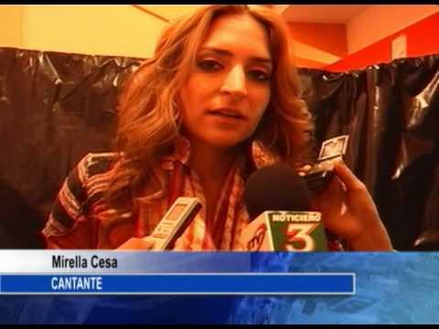 Mirela Cesa, artista invitada a la Elección de Reina de Salcedo