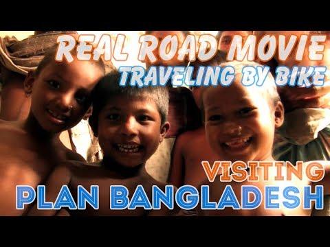 Bicycle Travel [Real Road Movie] Mission 6: Visiting Plan Bangladesh (Eng Sub)