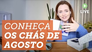 Chá com a Helena: Unboxing da Tea Box de Agosto do Clube de Assinatura de Chá ?