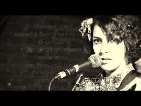 No Soy El Aire En Ingles de Thalia Letra y Video
