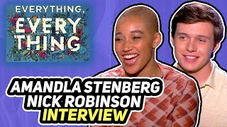 "ES Archive ""Everything, Everything"" Nick Robinson & Amandla Stenberg interview"