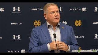Brian Kelly focusing on better preparation for Vanderbilt