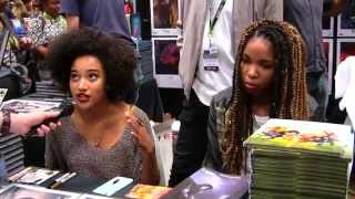 "Amandla Stenberg Discusses ""Niobe: She is Life"" - NYCC 2015"