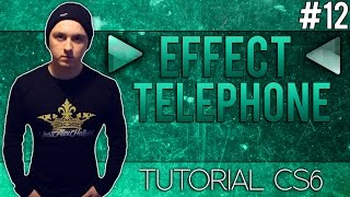 How To Make The Telephone Effect in Adobe Audition CS6 - Tutorial #12