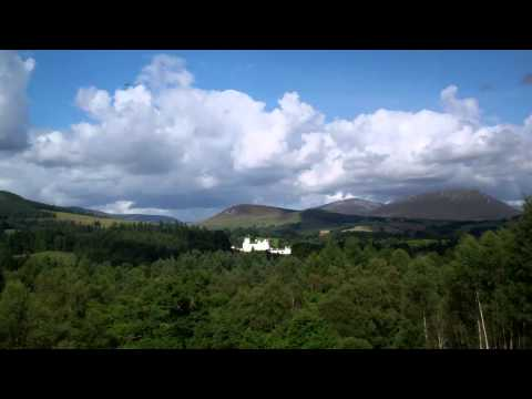 Viewpoint Blair Castle A9 Road Scottish Highlands Scotland August 3rd