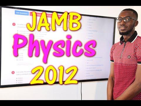 JAMB CBT Physics 2012 Past Questions 1 - 14