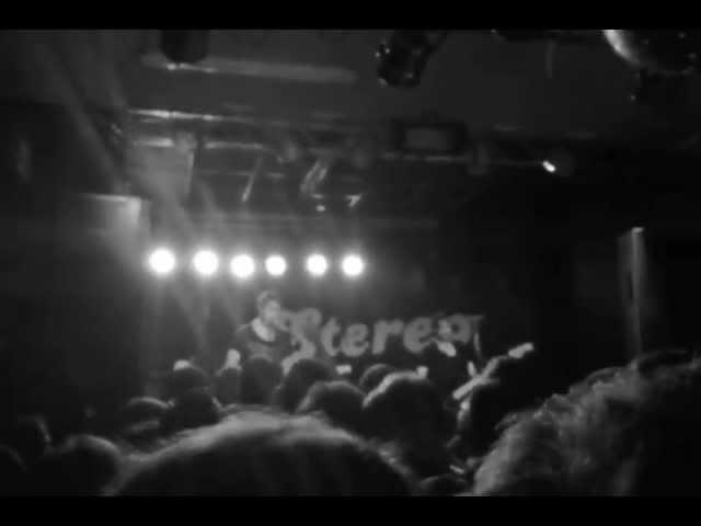 Vídeo de un concierto en la sala Stereo de Alicante.