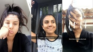 DANI ESPERANDO O MOTOBOY COM OS LOOKS + LARGADA SOZINHA NA RUA   Danielle Diz