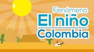 Fenómeno El Niño en Colombia